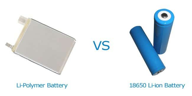 differences between li polymer and li ion battery