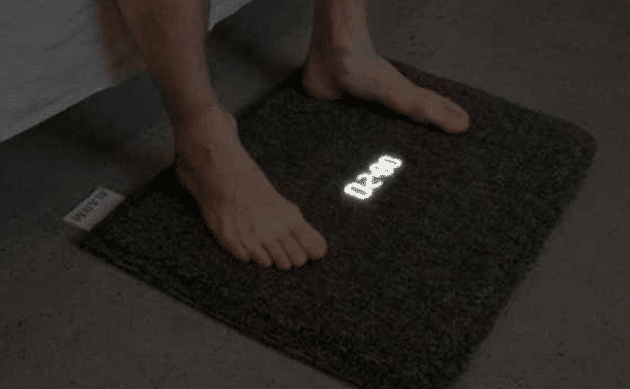 Alarm Clock on Mat