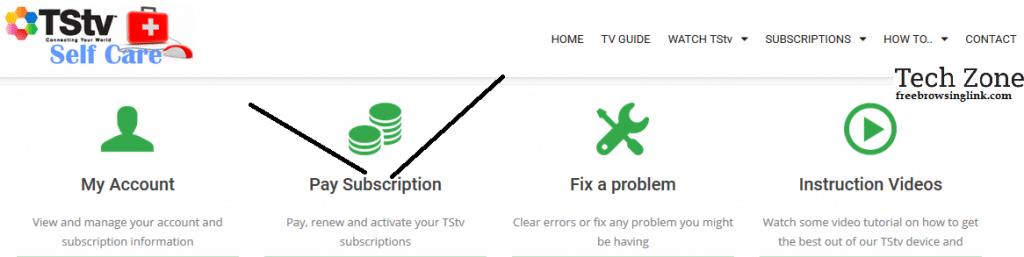 TStv how to pay