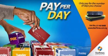 startime pay per day