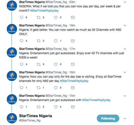startime pay per day image