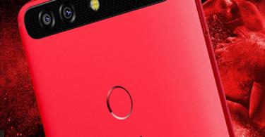 Infinix Zero 5 Pro red