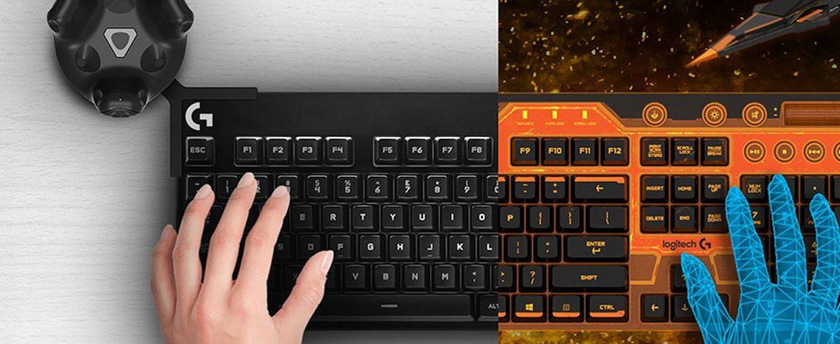 Logitech made a VR keyboard