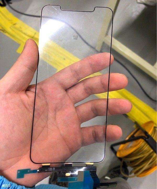 iPhone X Plus screen leaks
