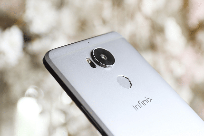 infinix zero 4 plus back