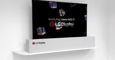 LG first rollable device