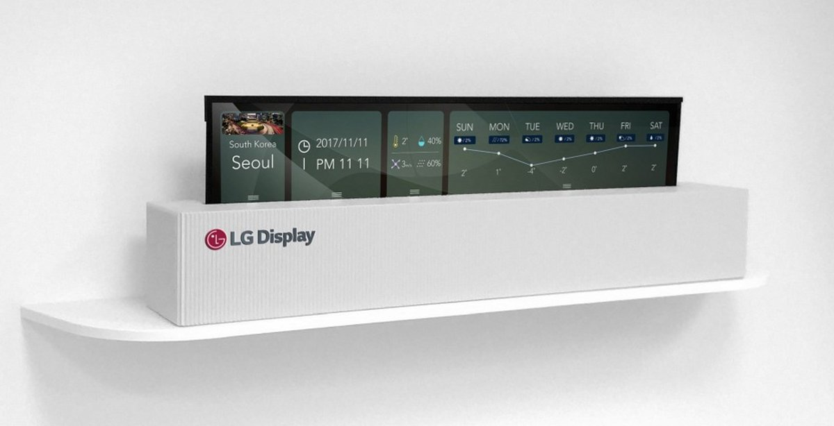 LG rollable devices
