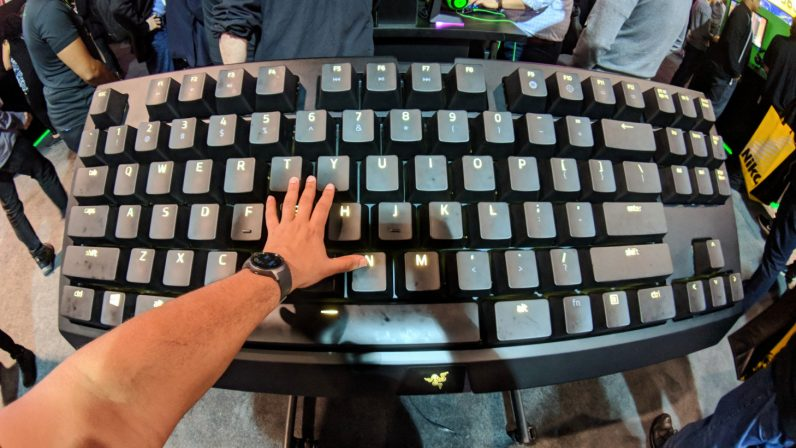 Razer mechanical keyboard