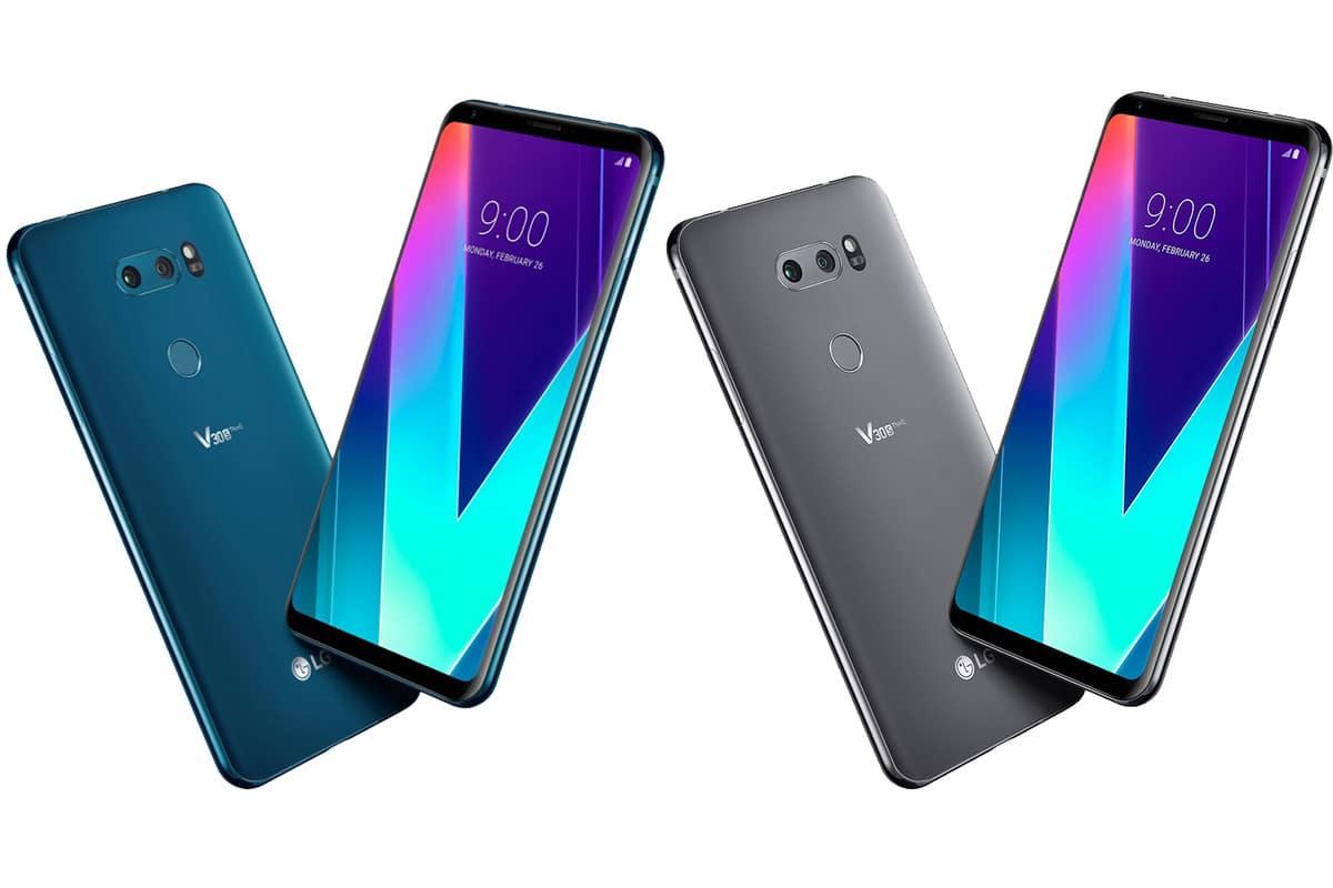 LG V30S ThinQ phone
