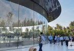apple glass wall spaceship