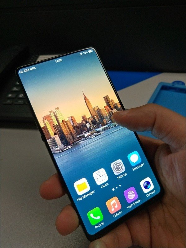 Vivo To Launch A Complete 100 Bezel Less Android Smartphone