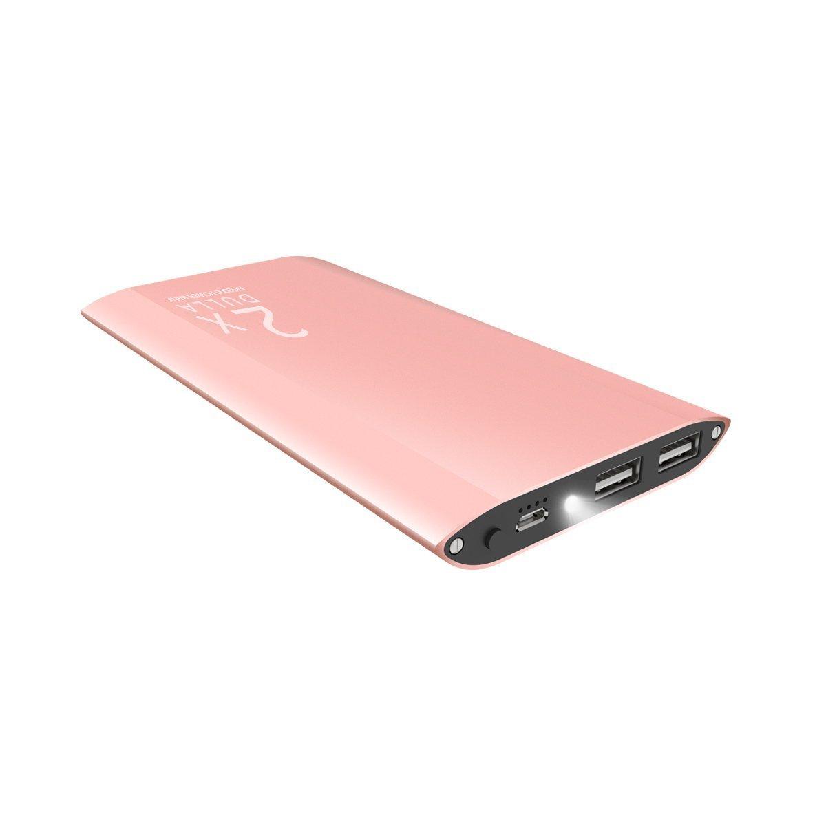 DULLA M50000 Portable Power Bank 12000mAh External Battery Charger