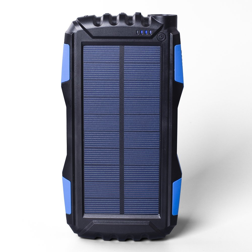 top 10 best solar power bank charger in 2018 buying guide. Black Bedroom Furniture Sets. Home Design Ideas