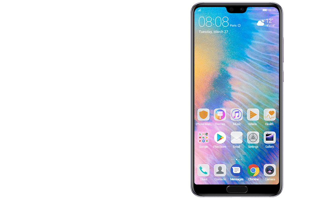 how to get percentage on a huawei phone 2