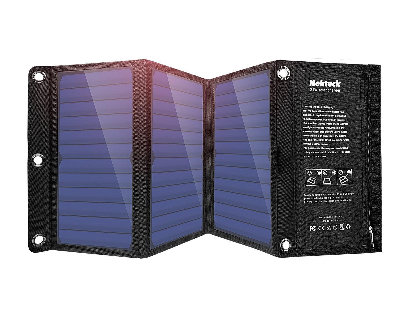 Nekteck 21W Solar Charger