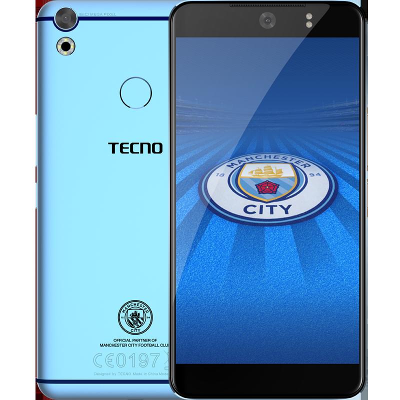Tecno Camon CX Manchester City Limited Edition
