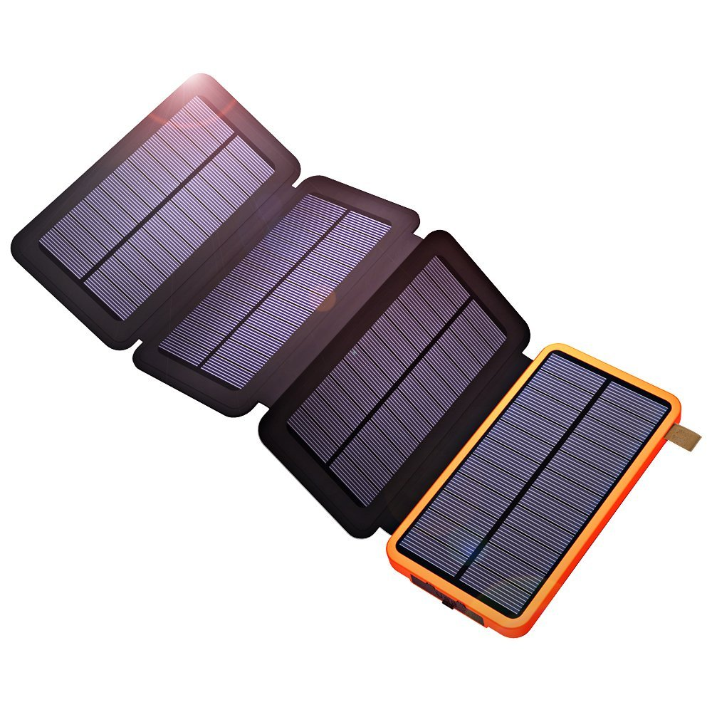 X-DRAGON 10000mAh Solar Power Bank