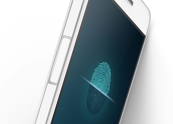 phone with side fingerprint sensor