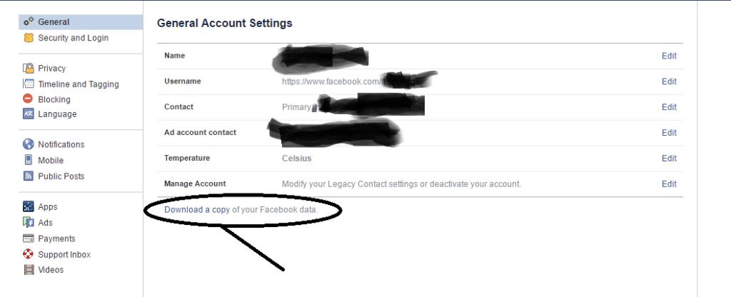 Facebook steps1