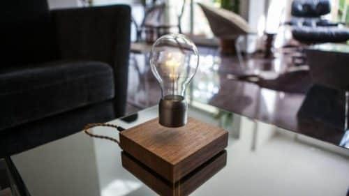 Levitating LED Light Bulb