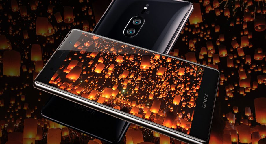 Sony Xperia XZ2 Premium phone