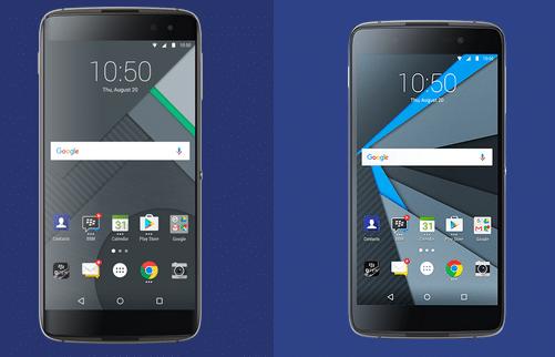 Blackberry DTEK60 and DTEK50