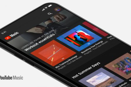 YouTube streaming music service