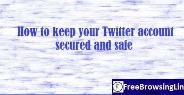 how to keep twitter account safe