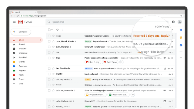 gmail design