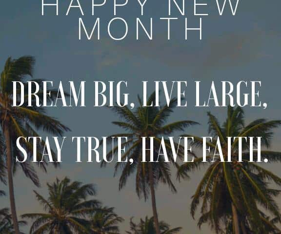 Happy new month messages to my girlfriend