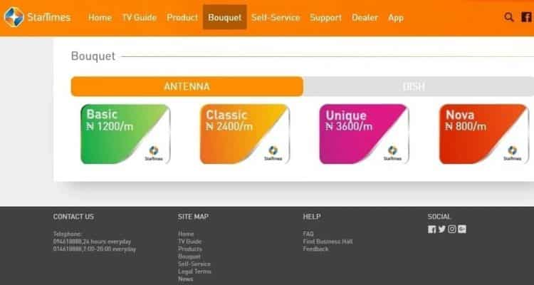 How to pay for Startimes subscription with mobile phone