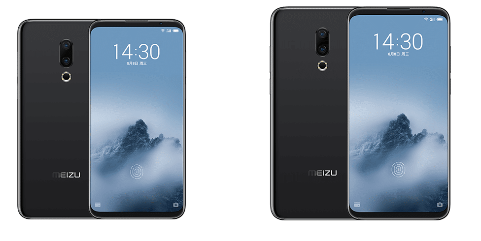 Meizu 16 and 16 Plus