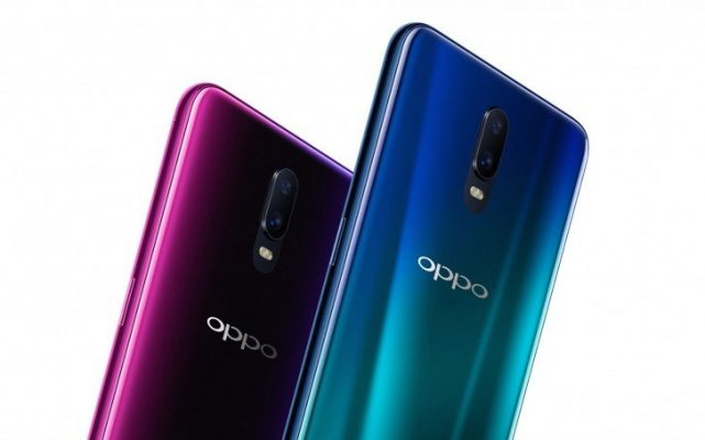 Oppo R17 with under-glass fingerprint sensor