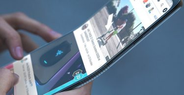 Samsung 1500 bendable phone