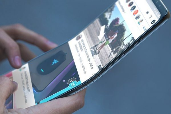 Samsung 1500 bendable phone