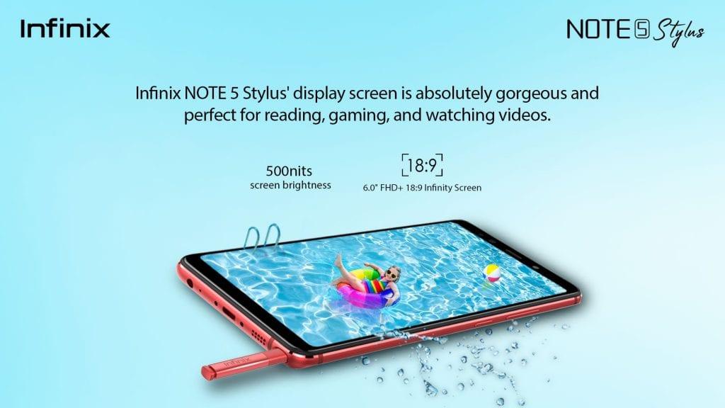 Infinix Note 5 Pro Stylus