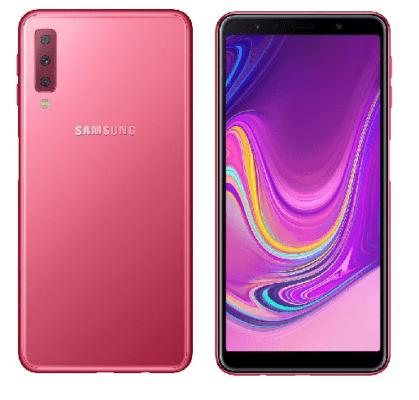Samsung Galaxy A7 (2018) smartphone