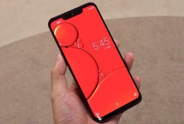 Sharp Aquos Zero smartphone