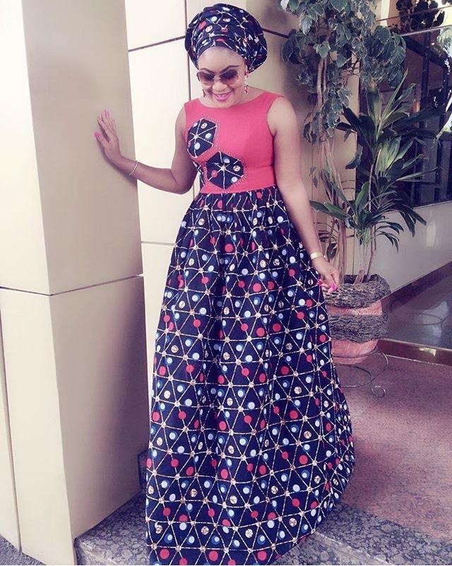 Ankara gown
