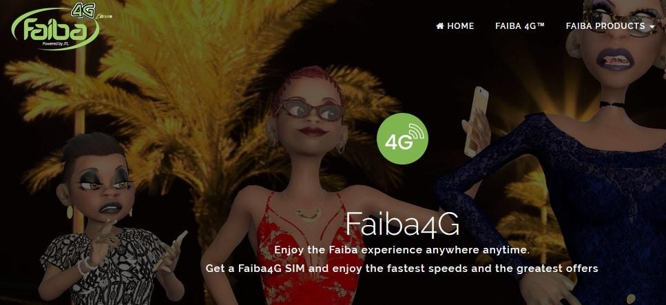 Faiba 4G LTE Network