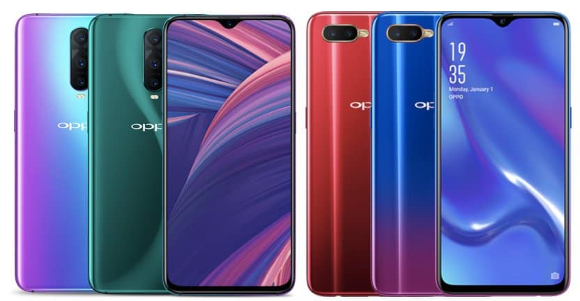 OPPO RX17 Pro and RX17 Neo