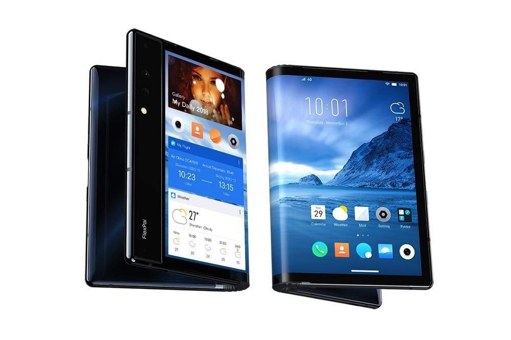 Royole FlexiPai foldable smartphone