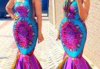 ankara dress for ladies