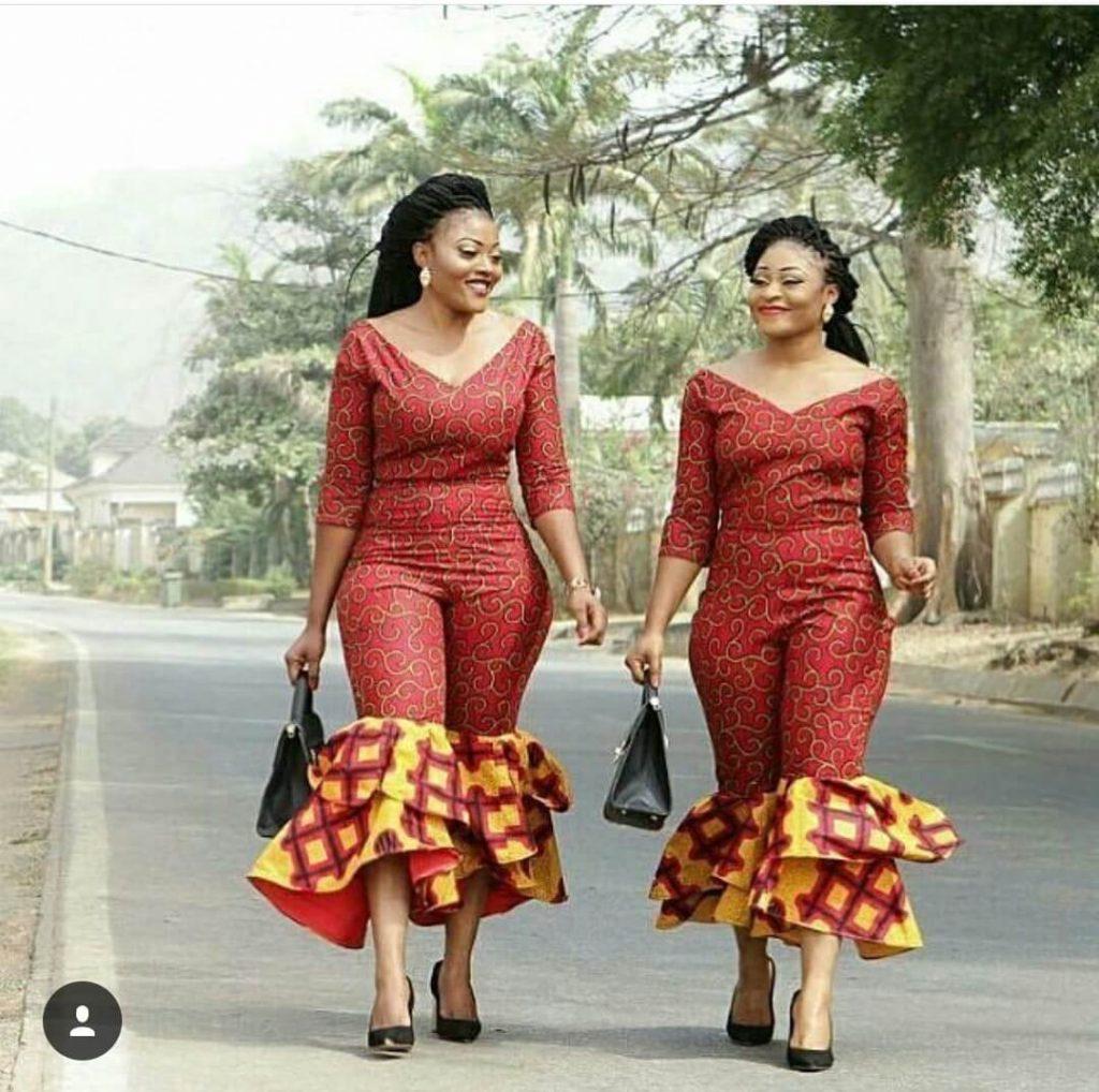 young girls ankara style