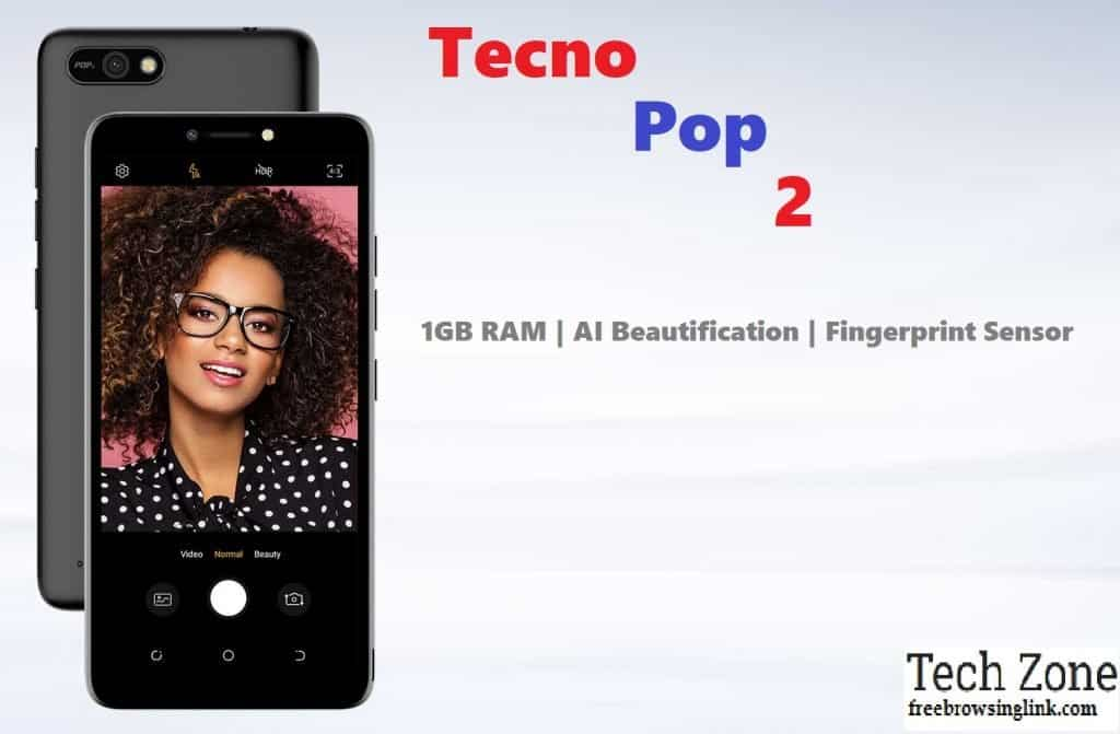 Tecno Pop 2 Specs, Review and Price - FreeBrowsingLink