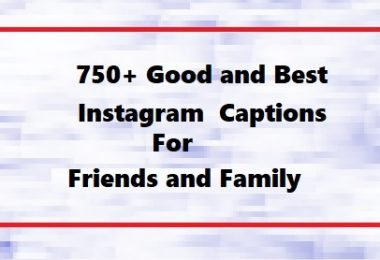 instagram captions for friends and family