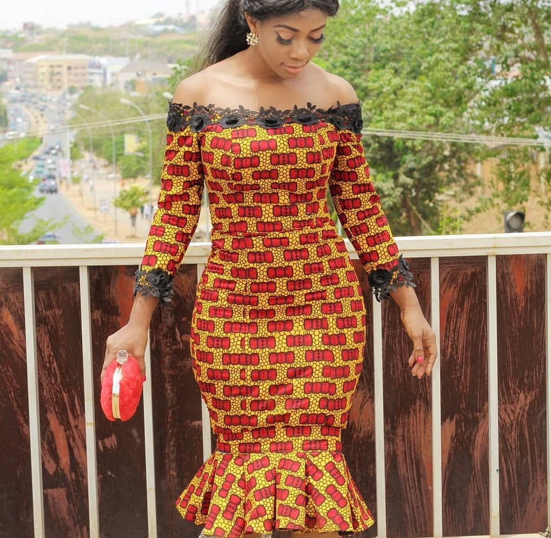 09b2fb24fc60 Trendy Ankara Gowns Styles Dresses To Wear For Women and Girls