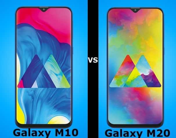 Galaxy M10 vs Galaxy M20