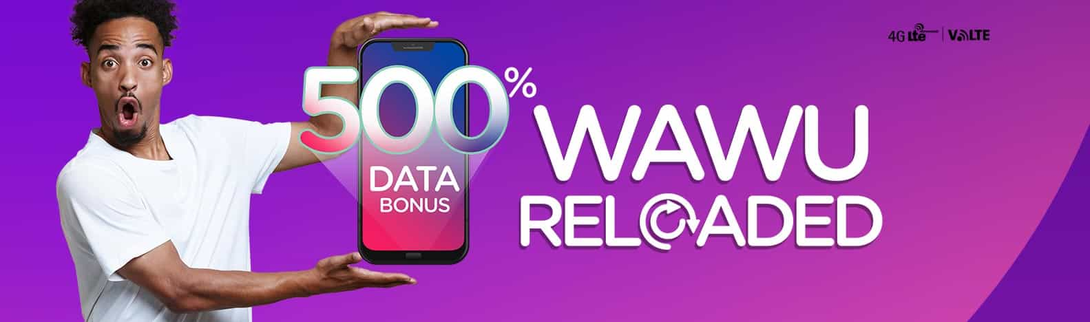 Ntel 500% Wawu Data Reloaded