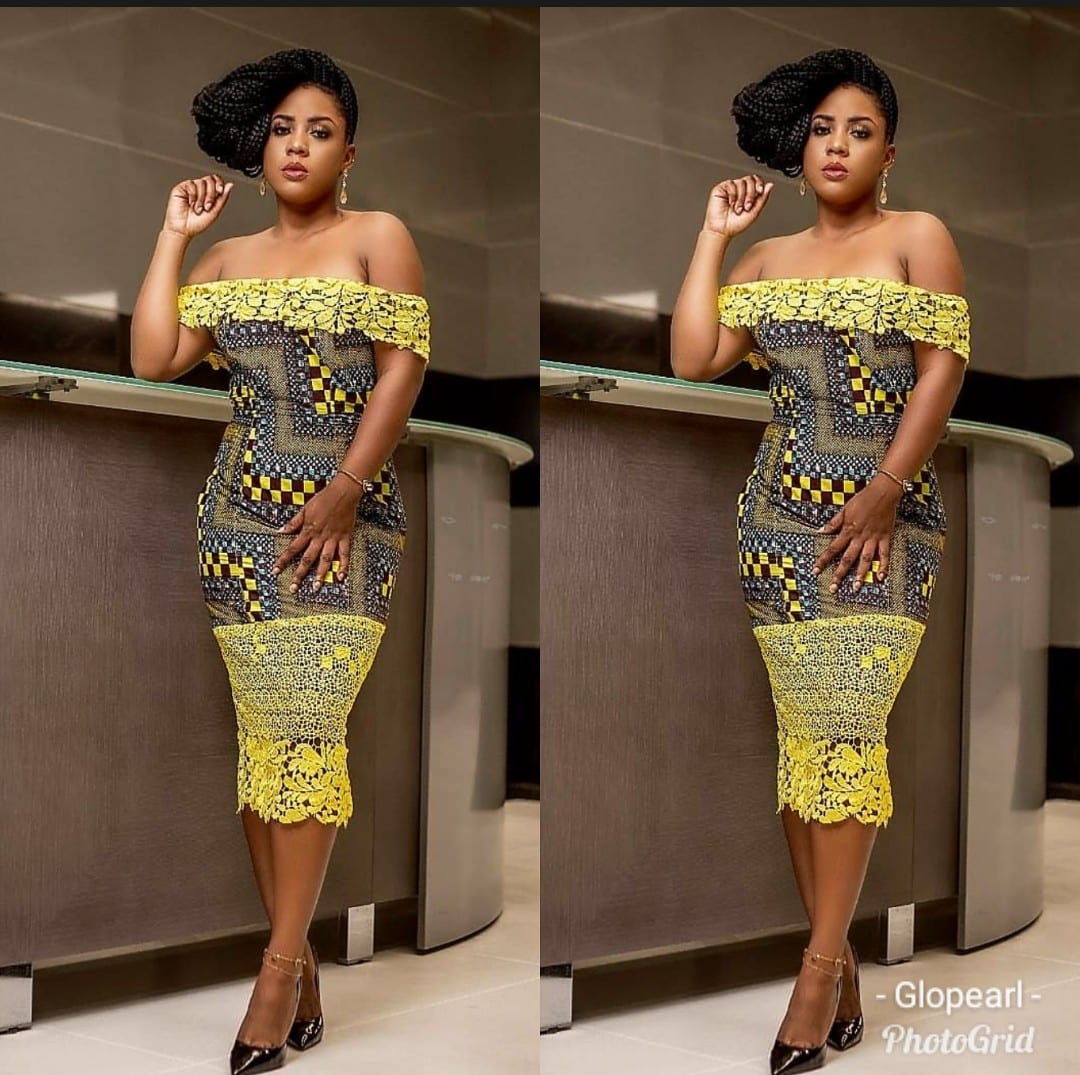 Trendy Ankara Gowns Styles Dresses To Wear For Women And Girls